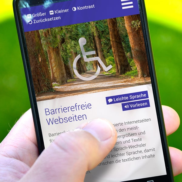 Barrierefreien Webseiten