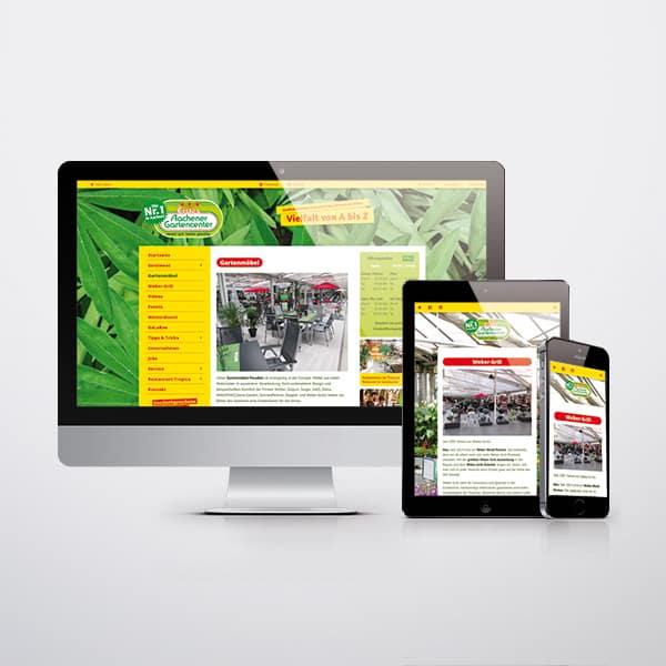 Webseite Erstes Aachener Gartencenter